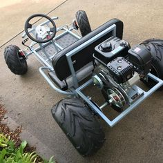 DIY Go Kart Cart Home made Welded image by diywp