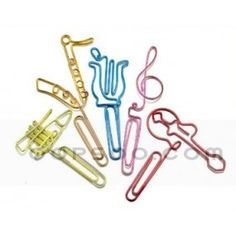 Custom Spray Paint Multicolor Metal Paper Clips - HC1501042825