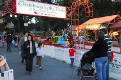 San Jose, California Christmas in the Park