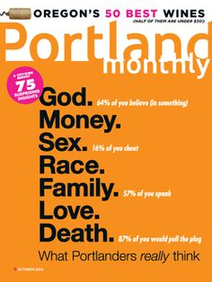 October 2012: What Portlanders Really Think