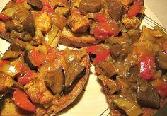 Houbová směs na topinky Ratatouille, Pot Roast, Hamburger, Stuffed Mushrooms, Good Food, Food And Drink, Menu, Vegetables, Cooking