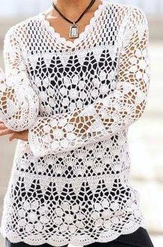 horgolt pulover