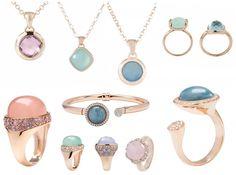 Bronzallure-Pastel #jewellery #bronzallure #rose #gold #gemstones
