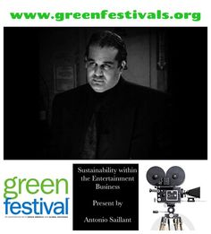 Good News Planet Earth   - Spreading Good News to the World      Join Producer Antonio Saillant @ the Green Festival Expo NY [April 25] at 4:30pm the Javits Center(Main Stage).  For more information visit   http://greenfestivals.org