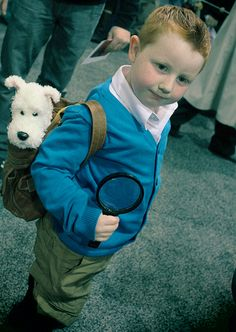 Tin-Tin (and Snowy!) | 14 Costumes Only Kids Can Pull Off
