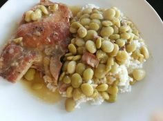Cajun Comfort Pork Chops And Baby Lima Beans Recipe Creole Recipes, Cajun Recipes, Pork Recipes, Cajun Food, Lima Beans In Crockpot, Savory Butternut Squash Recipe, Lima Bean Recipes, Instant Pot Pork Chops, Louisiana Recipes