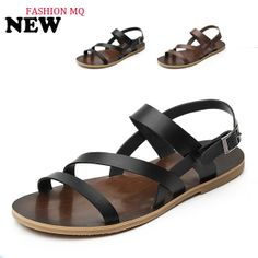 New 2014 summer new trend cool men sandals genuine leather breathable men's casual sandals and slippers men beach flip flop DZ05 US $65.49