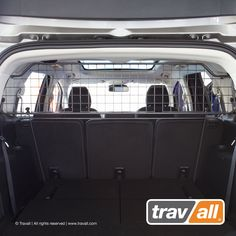 ac1001d1573 Travall dog guard for Ford S-Max 2015 onwards. This wire mesh dog guard is  designed to keep your dog securely in the boot