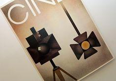 Vintage Industrial Movie Camera Art Print - Cine Poster - Cinema Film Lovers - via Etsy.