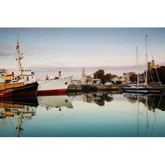 Boats at Maritime Museum La Rochelle Charente-Maritime Poitou-Charentes France Canvas Art - Panoramic Images (36 x 24)