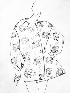 kimono tejido brocado