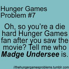 Hunger Games Problems # 7