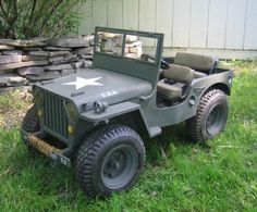 Mini WWII 1/3 Scale Willys Jeep
