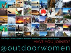 Heads up: You'll want to be here tomorrow: instagram.com/outdoorwomen  @OutdoorWomen. Just sayin... #hint #arcteryx ;)
