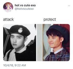 Smol and precious squishy Kyungsoo, Chanyeol, Exo Ot12, Kaisoo, K Pop, Kpop Memes, Exo Memes Funny, Steven Universe, Exo Facts