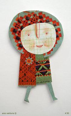 crafty chica by ana ventura, via Flickr