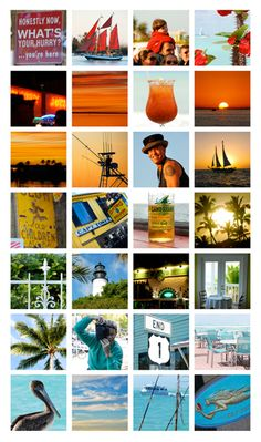 Love this Key West collage!