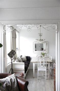 JDL Fenster Fries groß von PUREwhite! auf DaWanda.com