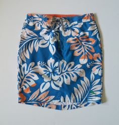 Upcycled swim trunks turned into a modest swim option for ladies! This skirt is a great multitasking clothing item! It can be worn both in and