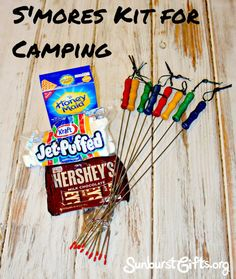 S'mores Kit for Camping
