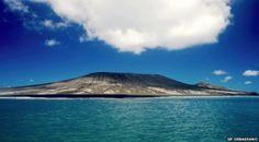 El espectacular nacimiento de una nueva isla tras una erupción volcánica en el Pacífico Sur