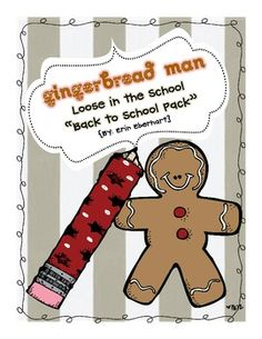Gingerbread Man is Loose in Our School | Scavenger Hunt Clues ...
