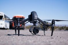 Drone Design Ideas : Testing out the DJI Inspire 2  Rotor Drone