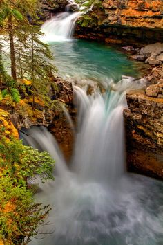 Waterfall Canyon - Calgary, Canada This is a very breath taking view, I love going there.