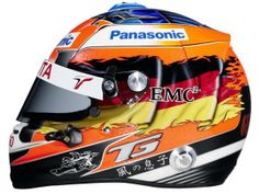 The 20 best F1 helmets of all time: Timo Glock (© Toyota)