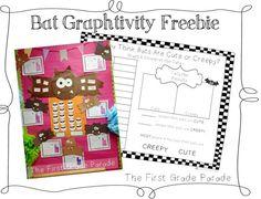 Fall-Bat Activity FREEBIES (1st gr.)--First Grade Parade