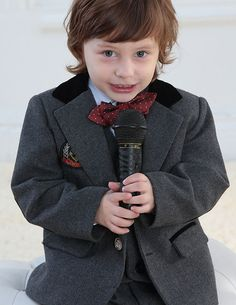Children Tuxedo / Vest Suit / Performance Clothing / Small Suits Set / Ring Bearer Suits