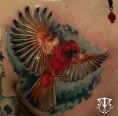 Tatuagem pássaro  by Mirel