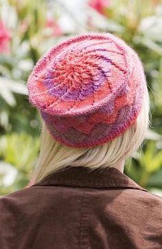 3baa6f742ecd41 Ravelry: Chroma Entrelac Hat and Fingerless Mitts (Hat) by Leslie V. Johnson
