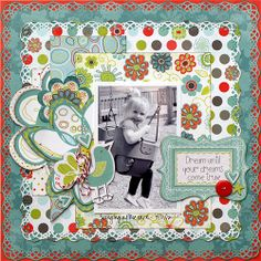 My Creative Scrapbook May Creative Kit REVEAL   Contests/Prizes Bo Bunny's Alora collection