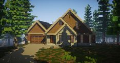 Minecraft Cottage, Modern Minecraft Houses, Minecraft City Buildings, Minecraft Mansion, Minecraft Houses Survival, Minecraft House Tutorials, Minecraft Houses Blueprints, Minecraft House Designs, Minecraft Architecture