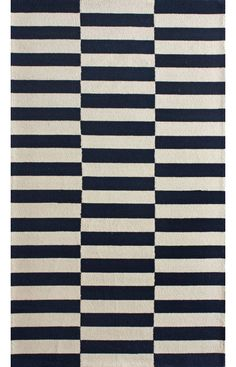 Rugs USA Homespun Blocks Navy Rug. Love it! I just wish I had ordered a bigger one. This rug somehow incorporates a feel of both traditional and contemporary design into the decor.