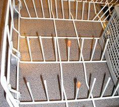 Give a corroding dishwasher basket a refresh