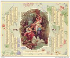 Calendario dei ricordi anno 1943
