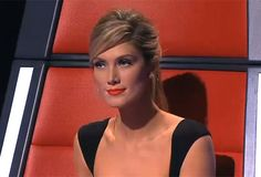 Delta Goodrem - absolutely flawless and perfection orange-red lip