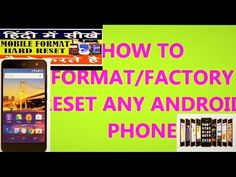 How To Factory Reset Your Android Phone ,How to reset locked Android device