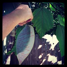 mamascout: poetry bombing the alley