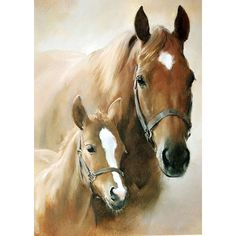 Drawing Animals Beautiful horse with her foal on this high quality paper napkin for decoupage or other arts and crafts. - Beautiful horse with her foal on this high quality paper napkin for decoupage or other arts and crafts. Pretty Horses, Horse Love, Beautiful Horses, Animals Beautiful, Painted Horses, Chestnut Horse, Brown Horse, Horse Drawings, Animal Drawings