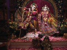 First darshan of Sri Sri Radha Vrindavanchandra (23rd Feb, 2013)