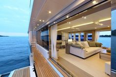 This is gorgeous! Aboard 40s Hybrid super-yacht # Yacht #SuperYacht #LuxLife… #megayacht