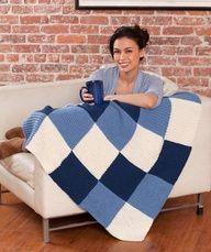 Knit Lapghan Pattern  #knitting  #redheartyarns