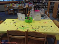 abc_table_art_Objective: Students will identify words that begin with a specific letter of the alphabet and will communicate those words through writing and illustration.