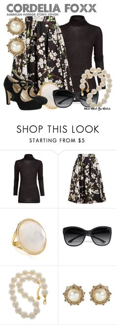"""American Horror Story: Coven"" by wearwhatyouwatch ❤ liked on Polyvore featuring MANGO, Dolce&Gabbana, Ippolita, GUESS by Marciano, Hobbs, television and wearwhatyouwatch"