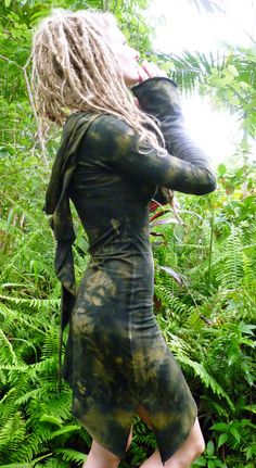 RESERVED for Pandora Hemp Lycra Mini Goddess Hooded by Wyldeskye, $105.00