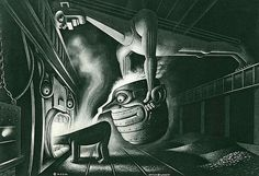 steel - Boris Artzybasheff