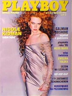 Playboy (Poland) April 1996  with Nicole Kidman on the cover of the magazine